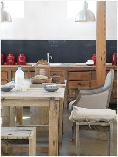 Фотография: Кухня и столовая в стиле Прованс и Кантри, Лофт, Декор интерьера, Интерьер комнат – фото на InMyRoom.ru