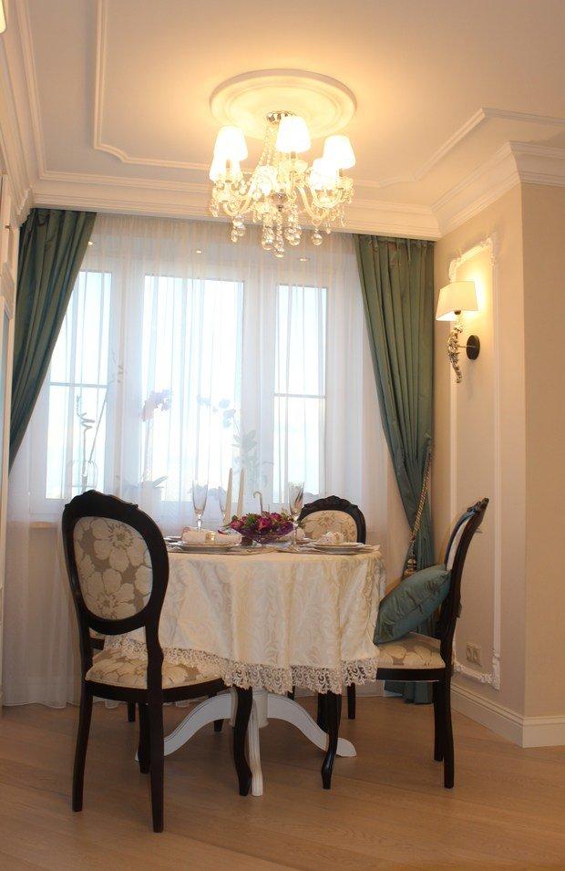 Фотография: Кухня и столовая в стиле Классический, Гостиная, Советы, Дизайн-студия Ольги Кондратовой, Ольга Кондратова – фото на InMyRoom.ru
