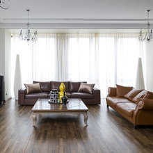 Фото из портфолио Фьюжн на Остоженке – фотографии дизайна интерьеров на INMYROOM