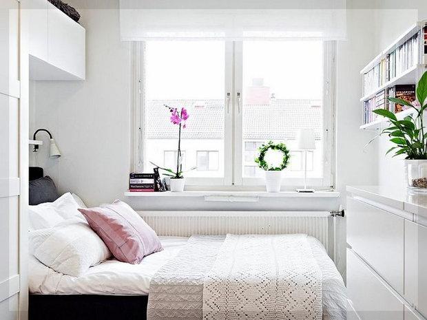 Фотография: Спальня в стиле Скандинавский, Малогабаритная квартира, Советы, Руслан Кирничанский – фото на InMyRoom.ru