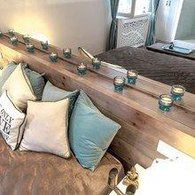 Фотография: Спальня в стиле Кантри, Современный, Интерьер комнат, Дача, Дачный ответ, Мансарда – фото на InMyRoom.ru