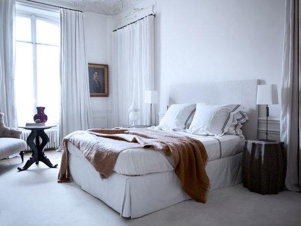 Фотография: Спальня в стиле Скандинавский, Современный, Квартира, Дома и квартиры, Международная Школа Дизайна – фото на InMyRoom.ru