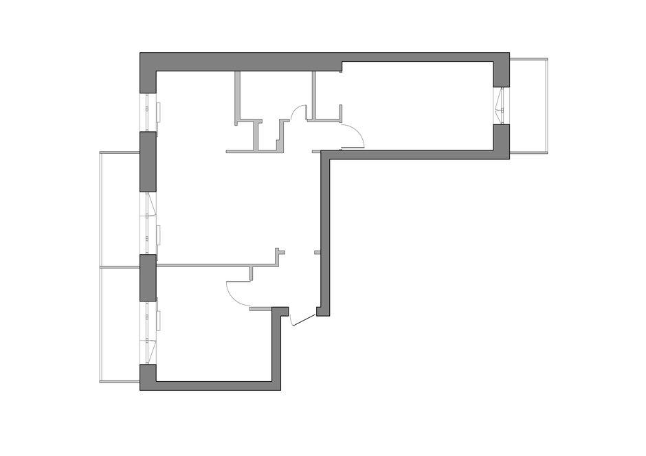 Фотография: Планировки в стиле , Восточный, Квартира, Проект недели, Москва, Маргарита Мустафина, Кирпичный дом, 3 комнаты, 60-90 метров, II-29 – фото на InMyRoom.ru