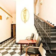 Фотография:  в стиле Современный, Дома и квартиры, Городские места, Москва, Хостел – фото на InMyRoom.ru