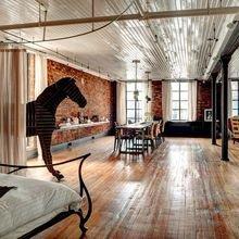 Фото из портфолио  Ход конем : лофт в Нью-Йорке – фотографии дизайна интерьеров на InMyRoom.ru