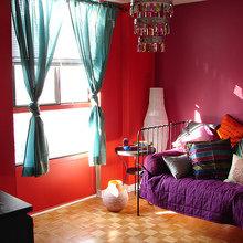 Фотография: Спальня в стиле Кантри, Декор интерьера, Мебель и свет, Светильник, Лампа, Мозаика, Восток, Подсвечник – фото на InMyRoom.ru
