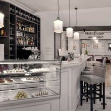 Фото из портфолио ресторан на Крюковом канале – фотографии дизайна интерьеров на InMyRoom.ru