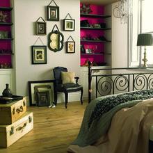 Фотография: Спальня в стиле Кантри, Восточный, Декор интерьера, Дизайн интерьера, Цвет в интерьере, Dulux – фото на InMyRoom.ru
