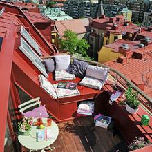 Фотография: Балкон, Терраса в стиле Кантри, Скандинавский, Флористика, Стиль жизни – фото на InMyRoom.ru
