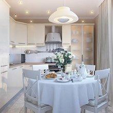 Фото из портфолио белая кухня – фотографии дизайна интерьеров на INMYROOM