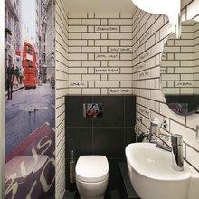 Фотография: Ванная в стиле Лофт, Современный, Эклектика, Квартира, Проект недели – фото на InMyRoom.ru