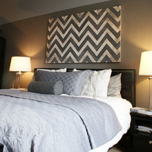 Фотография: Спальня в стиле Современный, Декор интерьера, Декор дома, Картины, Современное искусство – фото на InMyRoom.ru