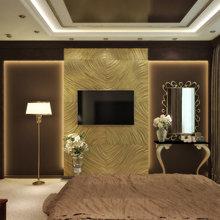 Фотография: Спальня в стиле Эклектика, Квартира, Дома и квартиры, Проект недели, Москва – фото на InMyRoom.ru