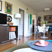 Фотография: Гостиная в стиле Кантри, Эклектика, Квартира, Дома и квартиры, Лос-Анджелес – фото на InMyRoom.ru