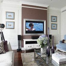 Фотография: Гостиная в стиле Кантри, Квартира, Дома и квартиры, Прованс, Москва – фото на InMyRoom.ru