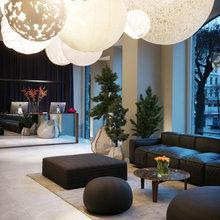 Фотография: Гостиная в стиле Современный, Дом, Дома и квартиры, Отель, Проект недели – фото на InMyRoom.ru