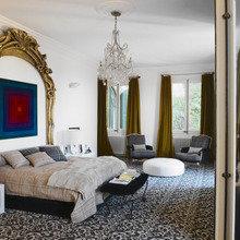 Фотография: Спальня в стиле Кантри, Эклектика, Дом, Дома и квартиры, Барселона – фото на InMyRoom.ru