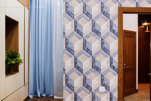 Фото из портфолио 77м2 Eco Реализация – фотографии дизайна интерьеров на INMYROOM