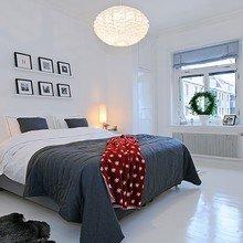 Фотография: Спальня в стиле Скандинавский, Декор интерьера, Интерьер комнат – фото на InMyRoom.ru