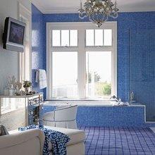 Фото из портфолио Синие интерьеры – фотографии дизайна интерьеров на InMyRoom.ru