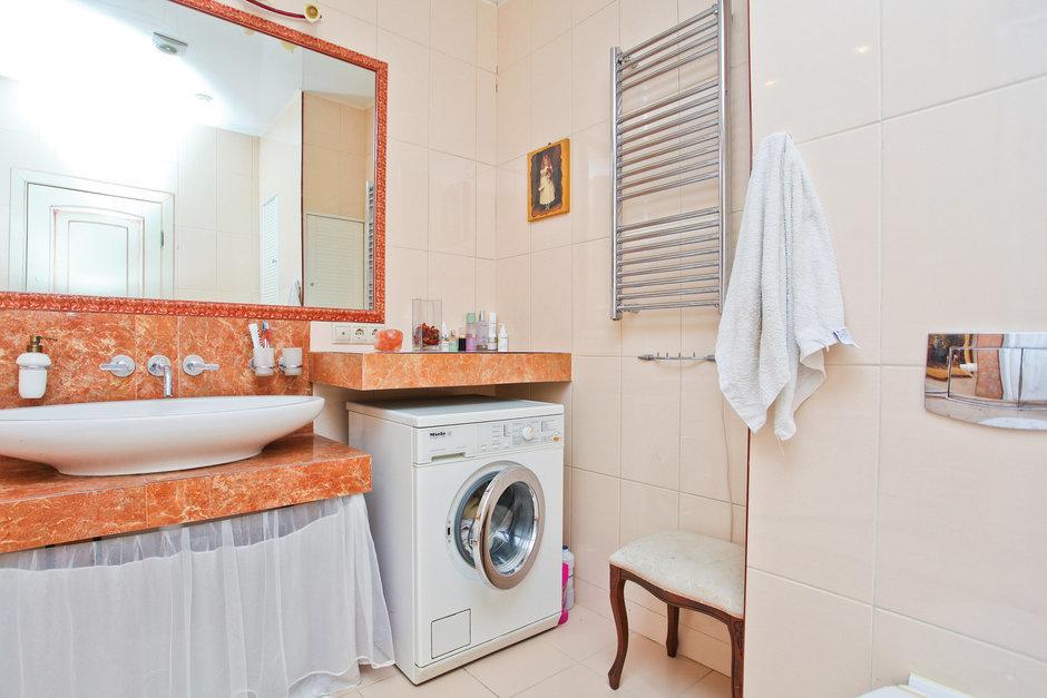 Фотография: Ванная в стиле Прованс и Кантри, Квартира, Дома и квартиры – фото на InMyRoom.ru