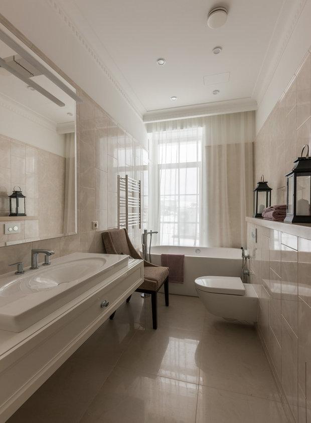 Фотография: Ванная в стиле Классический, Советы, Никита Морозов, Сантехника, KM-Studio – фото на InMyRoom.ru