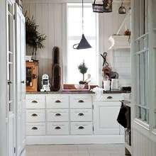 Фотография: Кухня и столовая в стиле Кантри, Скандинавский, Дом, Дома и квартиры – фото на InMyRoom.ru
