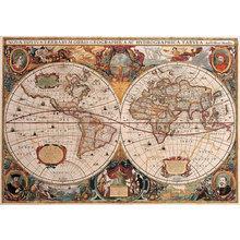 Картина (репродукция, постер): Карта 1630г -