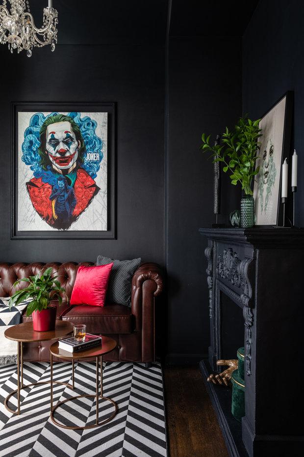 Фото из портфолио Квартира для вечеринок в Сити – фотографии дизайна интерьеров на INMYROOM