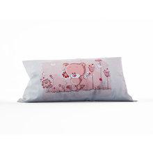 Диванная подушка: Влюбленный мишка