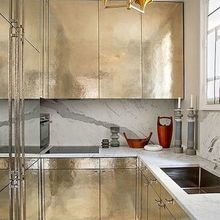 Фотография: Кухня и столовая в стиле Лофт, Декор интерьера, Декор дома, Кухонный остров – фото на InMyRoom.ru