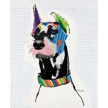 Картина (репродукция, постер): Dog №8 - Майкл Кек