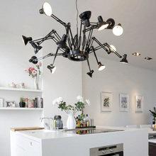 Фотография: Кухня и столовая в стиле Скандинавский, Декор интерьера, Moooi, Мебель и свет, Светильник – фото на InMyRoom.ru