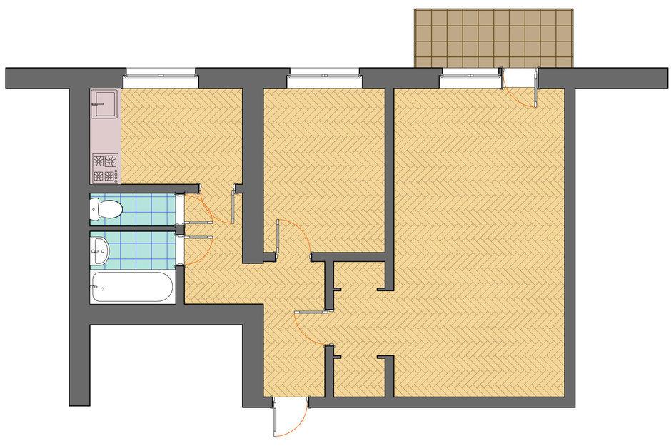 Фотография: Планировки в стиле , Декор интерьера, Квартира, Дом, Дома и квартиры, Ремонт – фото на InMyRoom.ru