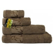 Полотенце Бамбук 50х90 коричневый