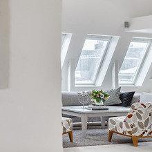 Фотография: Гостиная в стиле Скандинавский, Квартира, Мебель и свет, Дома и квартиры – фото на InMyRoom.ru