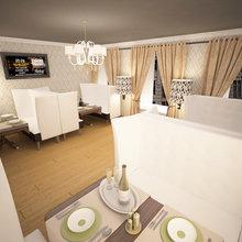 Фото из портфолио VIP зал ресторана – фотографии дизайна интерьеров на INMYROOM