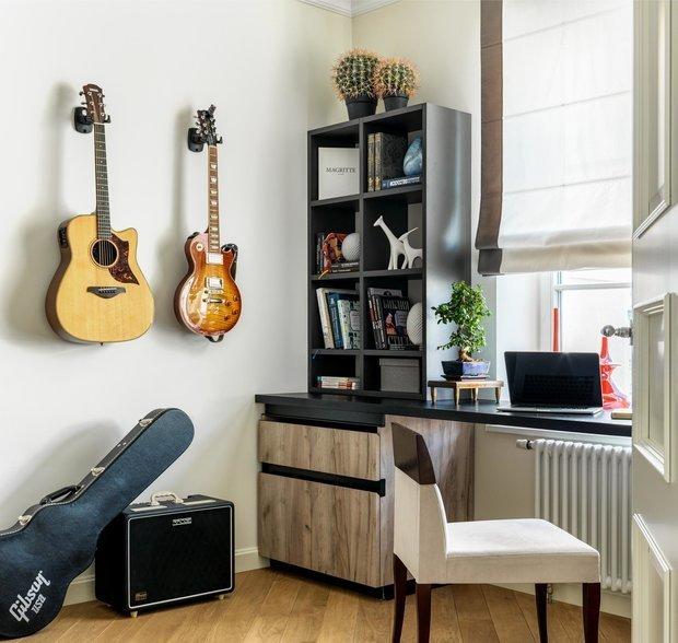 Фотография: Кабинет в стиле Современный, Декор интерьера – фото на INMYROOM