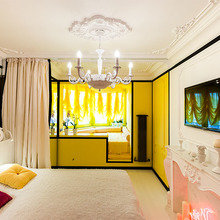 Фотография: Спальня в стиле Классический, Современный, Эклектика, Декор интерьера, Интерьер комнат – фото на InMyRoom.ru