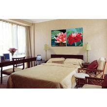Модульная картина на холсте: Цветочная идиллия