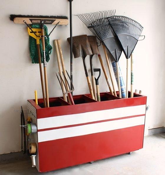 Фотография: Декор в стиле Прованс и Кантри, Эклектика, Прочее, Дом и дача, как обустроить гараж, хранение в гараже, как обустроить дачный сарай, идеи для гаража – фото на InMyRoom.ru