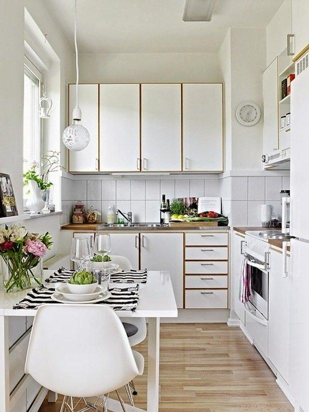 Фотография:  в стиле , Кухня и столовая, Перепланировка, Студия 3.14, Finish, Марина Козлякова – фото на InMyRoom.ru