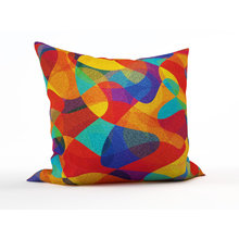 Декоративная подушка: Абстрактные узоры