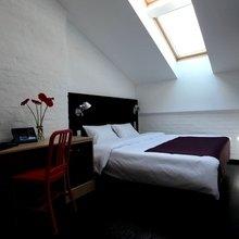 Фотография: Спальня в стиле Скандинавский, Лофт, Дома и квартиры, Городские места, Отель, Москва – фото на InMyRoom.ru