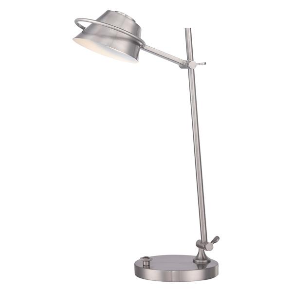 Купить Настольная лампа Quoizel Spencer матовый никель, inmyroom, Китай