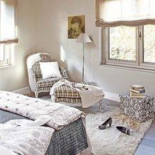 Фотография: Спальня в стиле Кантри, Квартира, Цвет в интерьере, Дома и квартиры, Бежевый – фото на InMyRoom.ru