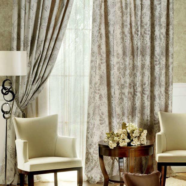 Фотография: Гостиная в стиле Современный, Декор интерьера, Текстиль, Окна – фото на InMyRoom.ru