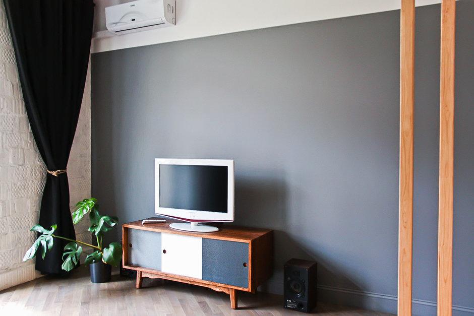 Фотография: Гостиная в стиле Лофт, Квартира, Дома и квартиры, Минимализм, Проект недели – фото на InMyRoom.ru