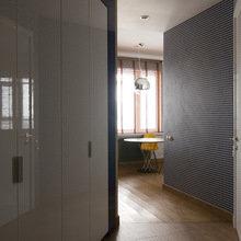 Фотография:  в стиле Современный, Лофт, Малогабаритная квартира, Квартира, Дома и квартиры, Проект недели – фото на InMyRoom.ru