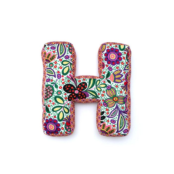 Подушка Home Alphabet H